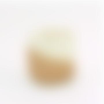 Medium Brown Terracotta Geometric Planter