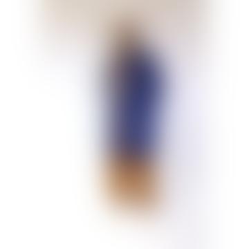 Long Klein Blue Rain Jacket