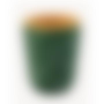 Medium Green White Spoted Forest Terracotta Mottled Odemira Flowerpot