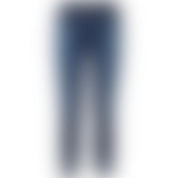 Alana High Rise Crop Skinny Denim Jeans in Arcade Wash
