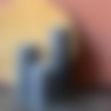 livs 7x10cm Rustic Antracite Pillar Candle
