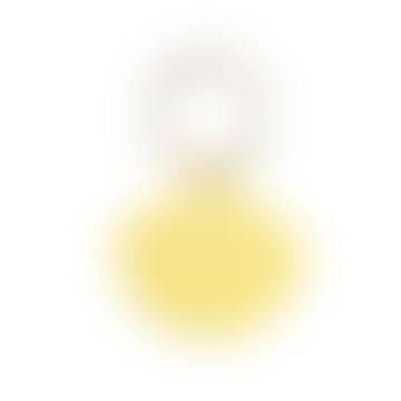 sept cinq Yellow Plexiglass Keychain