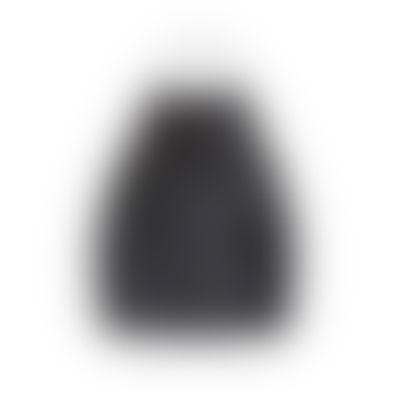 Ayana Small Rattan Lampshade Black Cross S - 22x18x18cm