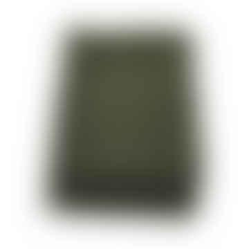Green Wool Scarf Unisex