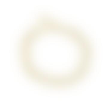 Collier vintage en laiton doré