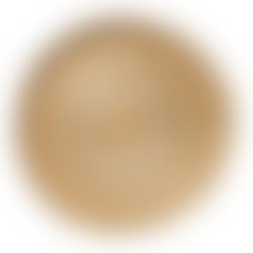 Vtwonen Round 51cm Gold and Silver Storage Basket
