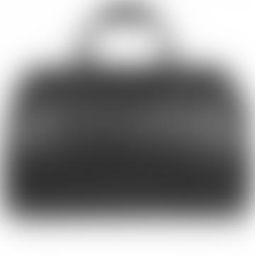 Black Leather Burghley Bag