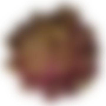 Faux Purple Artichoke Head