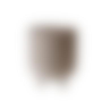 18 x 22 cm große Schale aus grauem Terrakotta