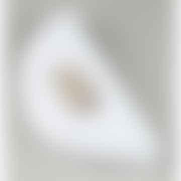 Flat Circle Ring Set in Matte Gold