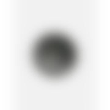 House Raccoon Black Marble Jesmonite Plate Plano 20cm