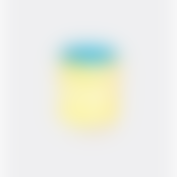 Memphis Handmade Blue & Yellow Dots Zuvi Zeva Zivi Mug