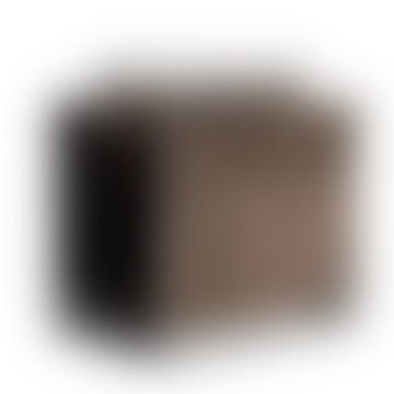 Muubs Black Iron and Grey Suede Bronx Magazine Holder Rack