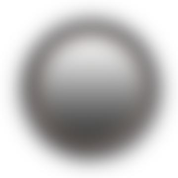 Black Circular Convex Mirror