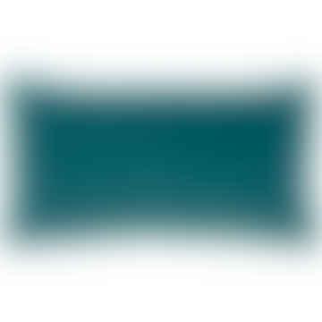 Vivaraise Elise Velvet Cushion in Vert de Gris 30x50cm