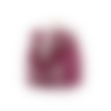 6L Bordeaux Polyester Backpack