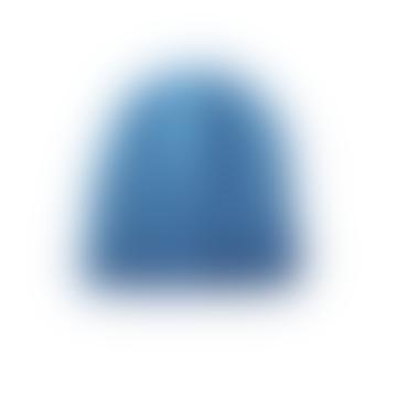 Adrien Half cardigan knit hat beanie Blue
