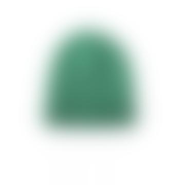 Adrien Half cardigan knit hat beanie Green