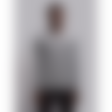 Wetheknot Black Melange Cotton Long Sleeve Pique T Shirt