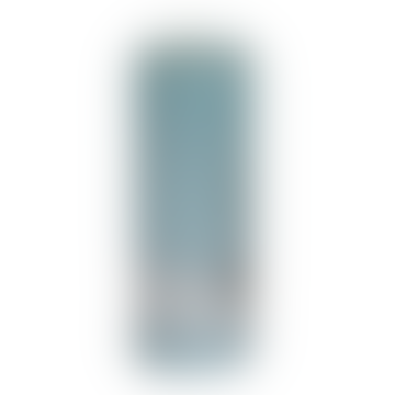 18 x 7cm Mint Green Metallic Pillar Candle