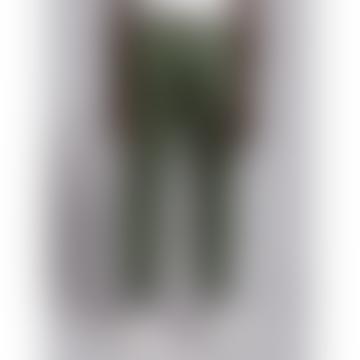 Wetheknot Green Cotton Drawstring Trousers