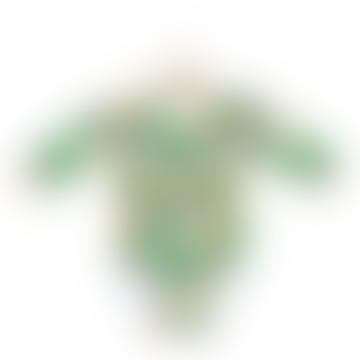 Long Sleeve Toucan Printed Bodysuit
