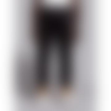 Wetheknot Black Cotton Drawstring Trousers