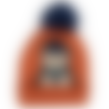 One Size Rust Acrylic Penguin Bobble Kids Hat