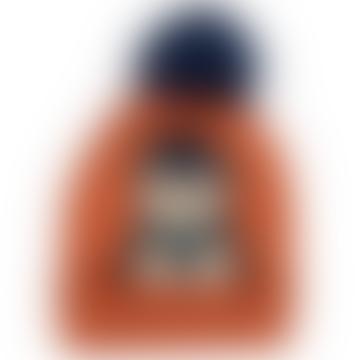 Powder One Size Rust Acrylic Penguin Bobble Kids Hat