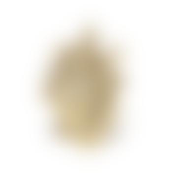 Seletti 16.5 x 9cm Golden Fine Porcelain Love in Bloom Gold Vase