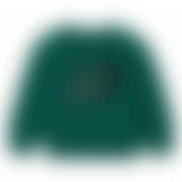 Green Cold Wave Sweatshirt