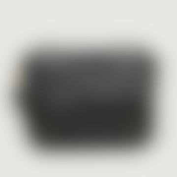 New Zealand Black Leather Bubble Jason Bag