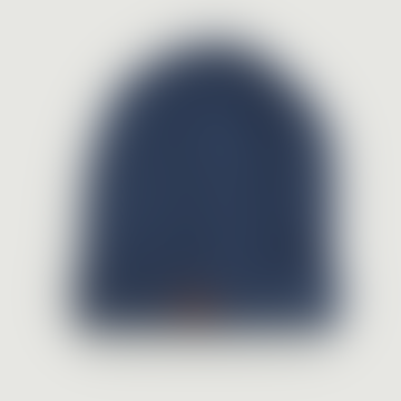 OLOW Blue Wool and Acrylic Leon Bonnet Hat