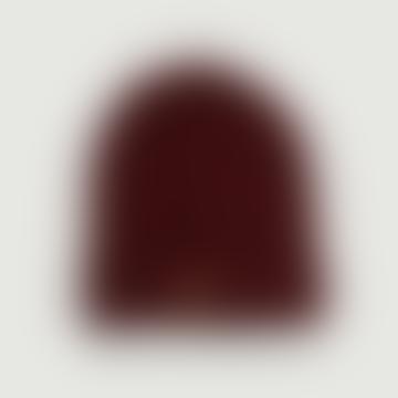 OLOW Bordeaux Wool Leon Bonnet Hat