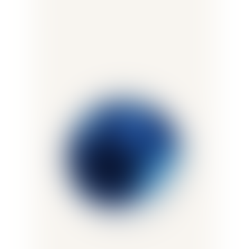 Marimekko 25cm White Turquoise Stoneware Oiva Plate