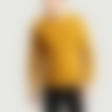 OLOW Mustard Wool and Acrylic Fluid Sweater