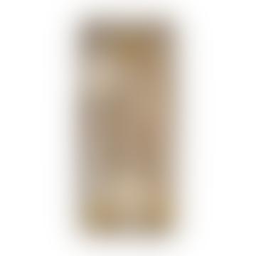 Ménagère en bois doré x 8