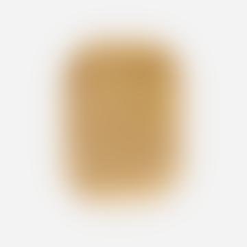 26,5 x 19,5 cm goldenes Messing-reiches Tablett