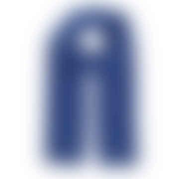 Royal Blue Merino Wool Scarf