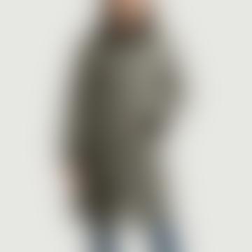agnès b. Gray Wool Darcia Fur Collar Coat