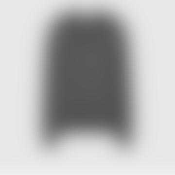 American Vintage Anthracite Angora Gogojet Hined Sweater