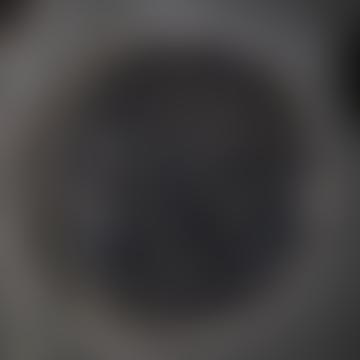 Nkuku Large Oiled Decorative Round Mirror