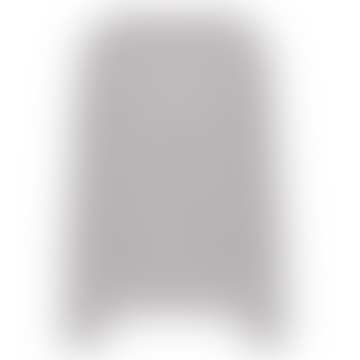 Light Gray Mottled Cashmere V Neck Cardigan