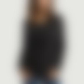 Charcoal Gray Cotton Long Sleeves Sonoma T-Shirt