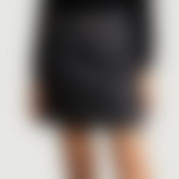 Indigo Denim Cotton Standard Skirt