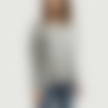 Gray Viscose Long Raglan Sleeves Vetington T-Shirt