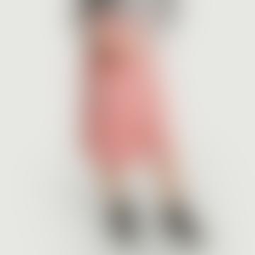 Pink Viscose Floral Colibri Wallet Skirt