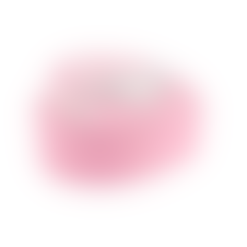 Sass & Belle  Pink and White MDF Rainbow Unicorn Jewellery Box