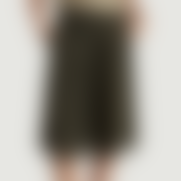 Khaki Polyester Inostate Skirt
