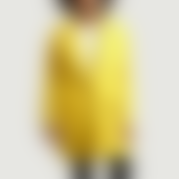 American Vintage Yellow Wool and Polyester Pamilia Coat